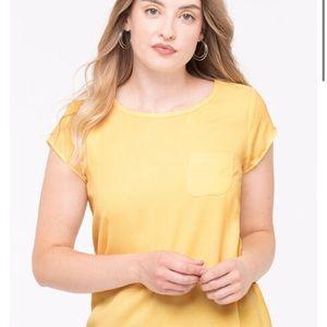 NWT / Ricki's / Yellow / Short Sleeve / Tee